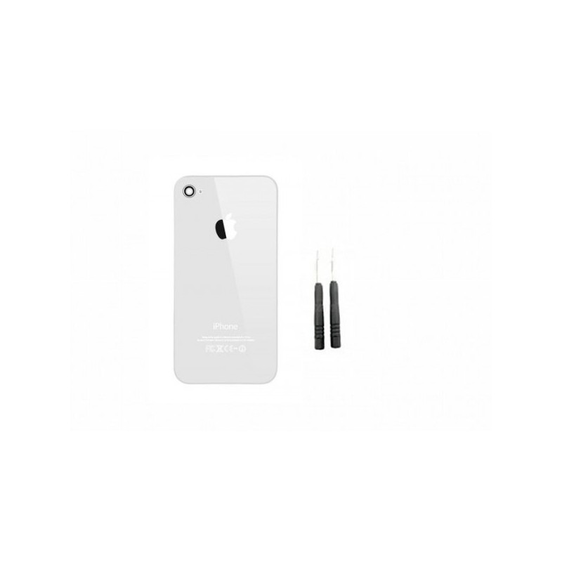 kit reparation coque arriere iphone 4s blanc ephone access. Black Bedroom Furniture Sets. Home Design Ideas