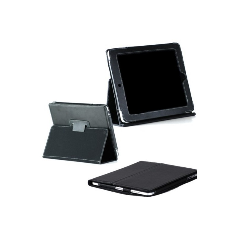 Housse cuir ipad 2 new ipad ephone access for Housse cuir ipad