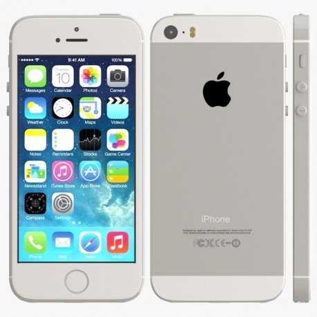 apple iphone 5s silver 16 giga ephone access. Black Bedroom Furniture Sets. Home Design Ideas