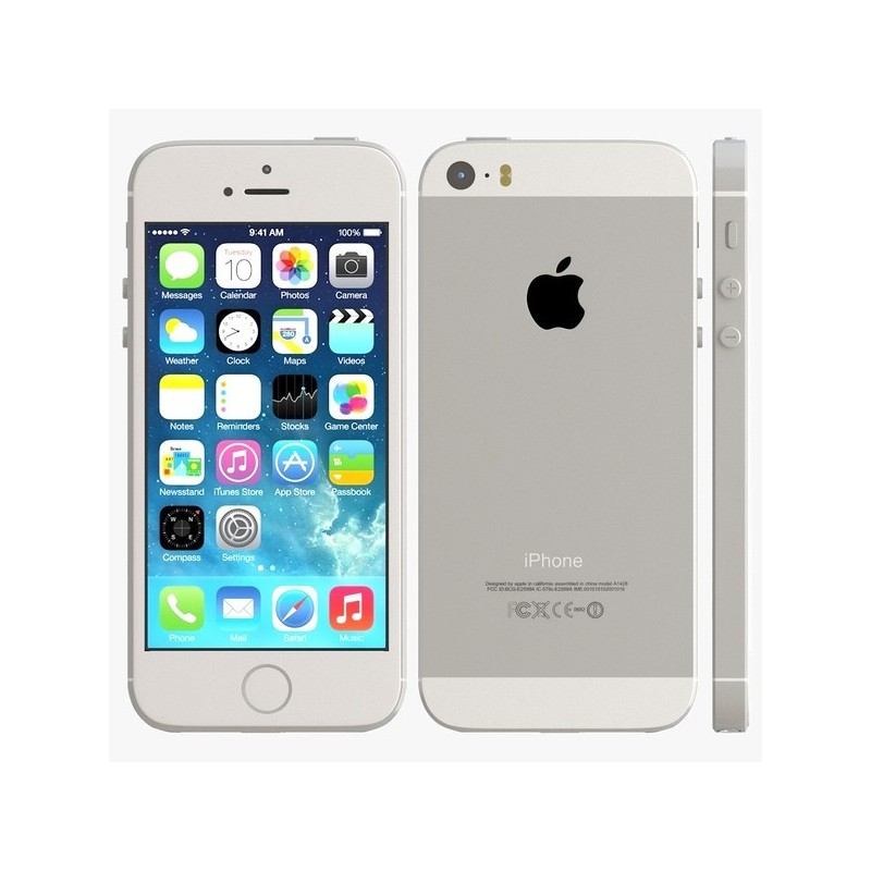 apple iphone 5s silver 16gb ephone access. Black Bedroom Furniture Sets. Home Design Ideas