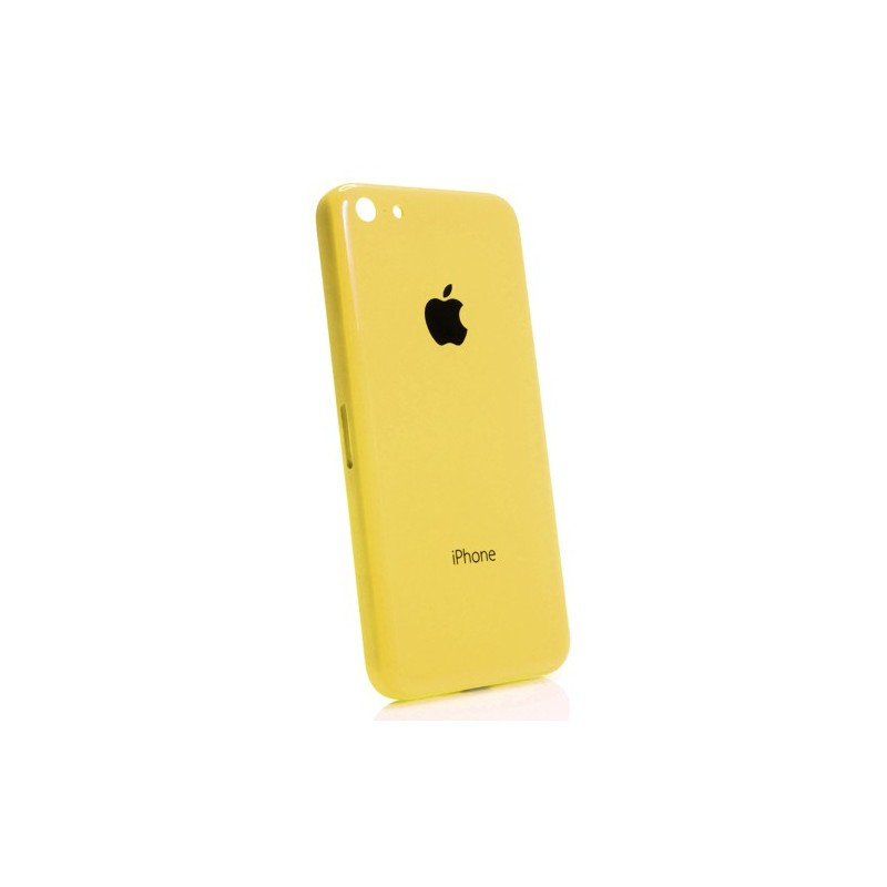 coque arri re jaune pour iphone 5c chassis. Black Bedroom Furniture Sets. Home Design Ideas