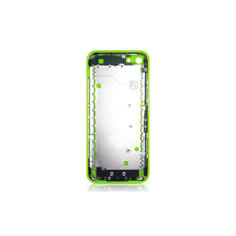 coque arri re verte pour iphone 5c chassis. Black Bedroom Furniture Sets. Home Design Ideas