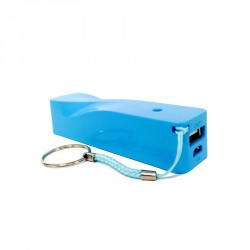 Chargeur universelle bleu power bank-4500 mah
