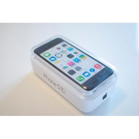 Apple iphone 5c blanc 16 giga