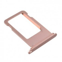 Tiroir support carte sim iPhone 7 or rose