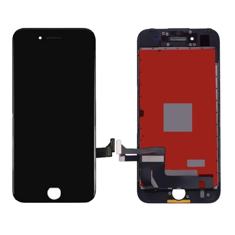 Ecran lcd vitre tactile pour iphone 7 noir for Ecran photo noir iphone 5