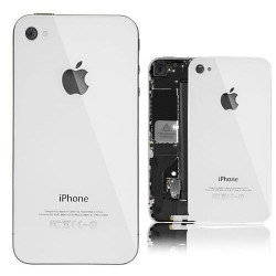Coque arriere iphone 4s blanc