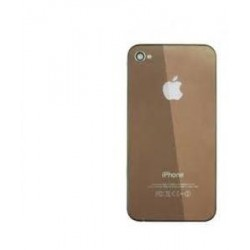 Coque arriere iphone 4 couleur caffe/mirroir