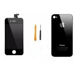 Kit complet iphone 4 noir retina