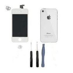 Kit complet iphone 4 blanc retina