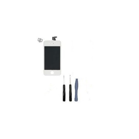 Kit reparation ecran complet iphone 4 blanc