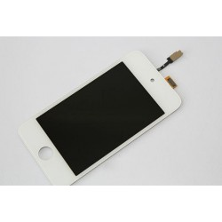 Vitre ipod touch 4 - ecran tactile ipod touch 4 blanc