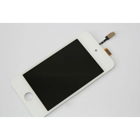 Vitre ipod 4 - ecran tactile ipod touch 4 blanc