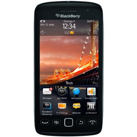 Reparation vitre tactile blackberry torch 9860