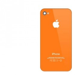 Coque arriere iphone 4s orange