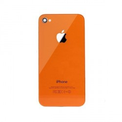 Coque arriere iphone 4 orange