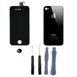 Kit complet iphone 4s retina noir