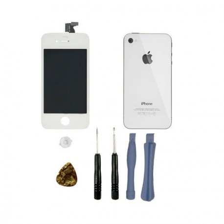Kit reparation complet iphone 4s retina blanc