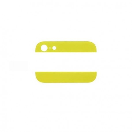 Vitre arriere iphone 5 jaune
