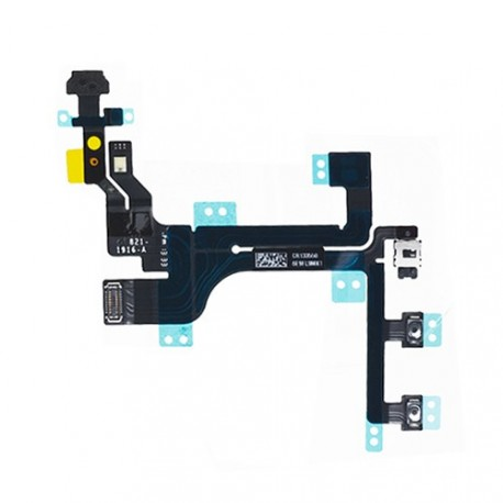 Nappe bouton power iphone 5c