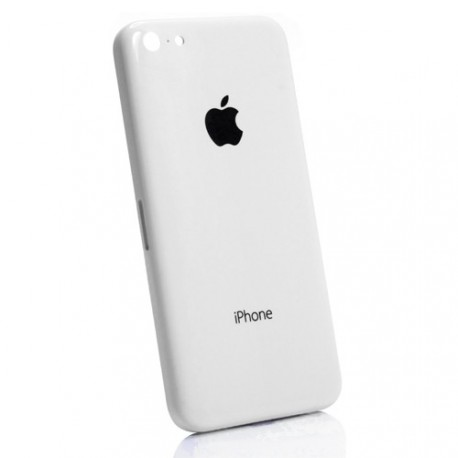 Coque arrière chassis iphone 5c blanc
