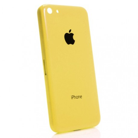 Coque arrière chassis iphone 5c jaune