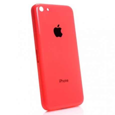 Coque arrière chassis iphone 5c rose