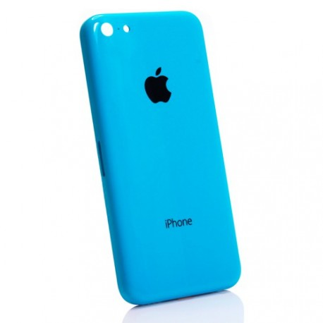 coque arriere chassis iphone 5c bleu