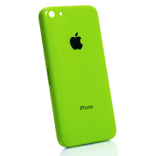coque arriere chassis iphone 5c verte