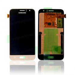 Ecran + vitre tactile Samsung galaxy J3 2016 Or/Gold