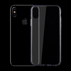 Etui gel transparent iPhone X