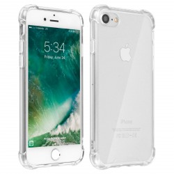 Coque gel transparente rebords renforcé iPhone 6