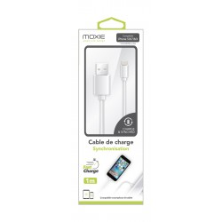 Câble lightning iPhone moxie