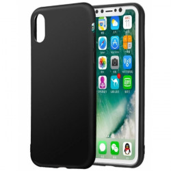 Coque plastic semi rigide iPhone X