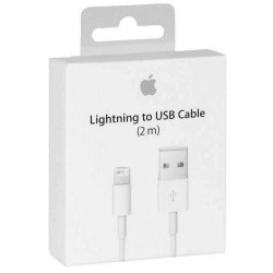 Câble lightning iPhone 2m