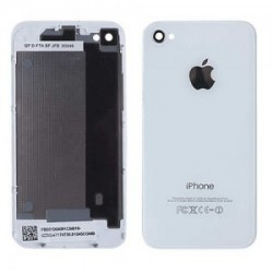 Coque arriere iphone 4 blanc d origine