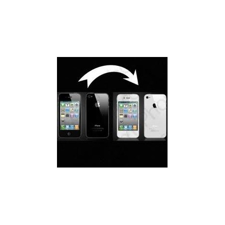 Transformation iphone 4 en blanc