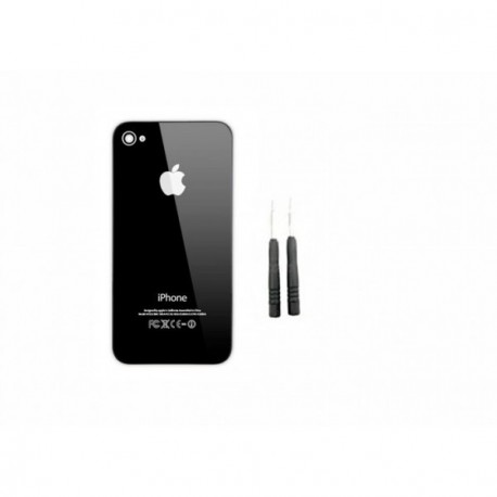 Kit coque arriere iphone 4 noir