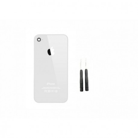 Kit reparation coque arriere iphone 4 blanc
