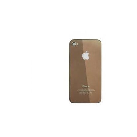 Coque arriere iphone 4 couleur caffe