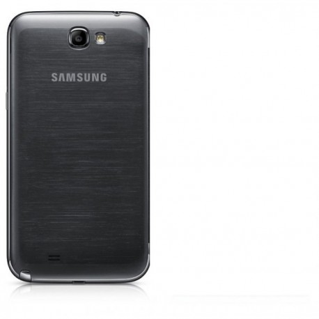 Cache batterie samsung galaxy note 2 gris anthracite