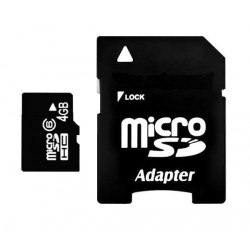 Carte memoire micro sd 4 giga